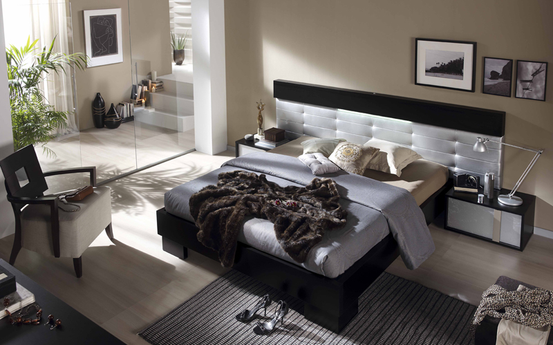 Dormitorio moderno ferpi muebles for Muebles gazapo