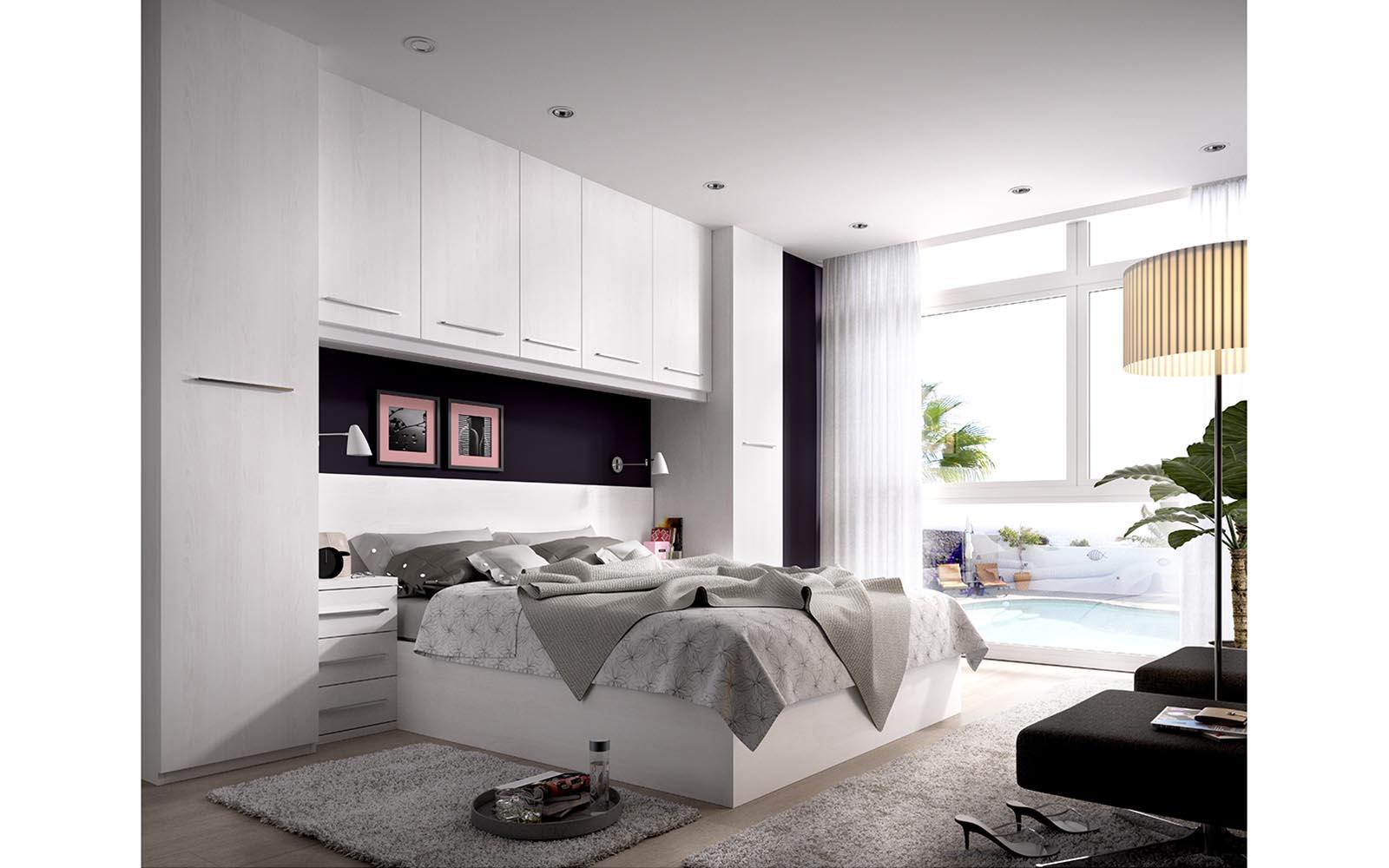 Dormitorio moderno ferpi muebles - Dormitorios con puente ...