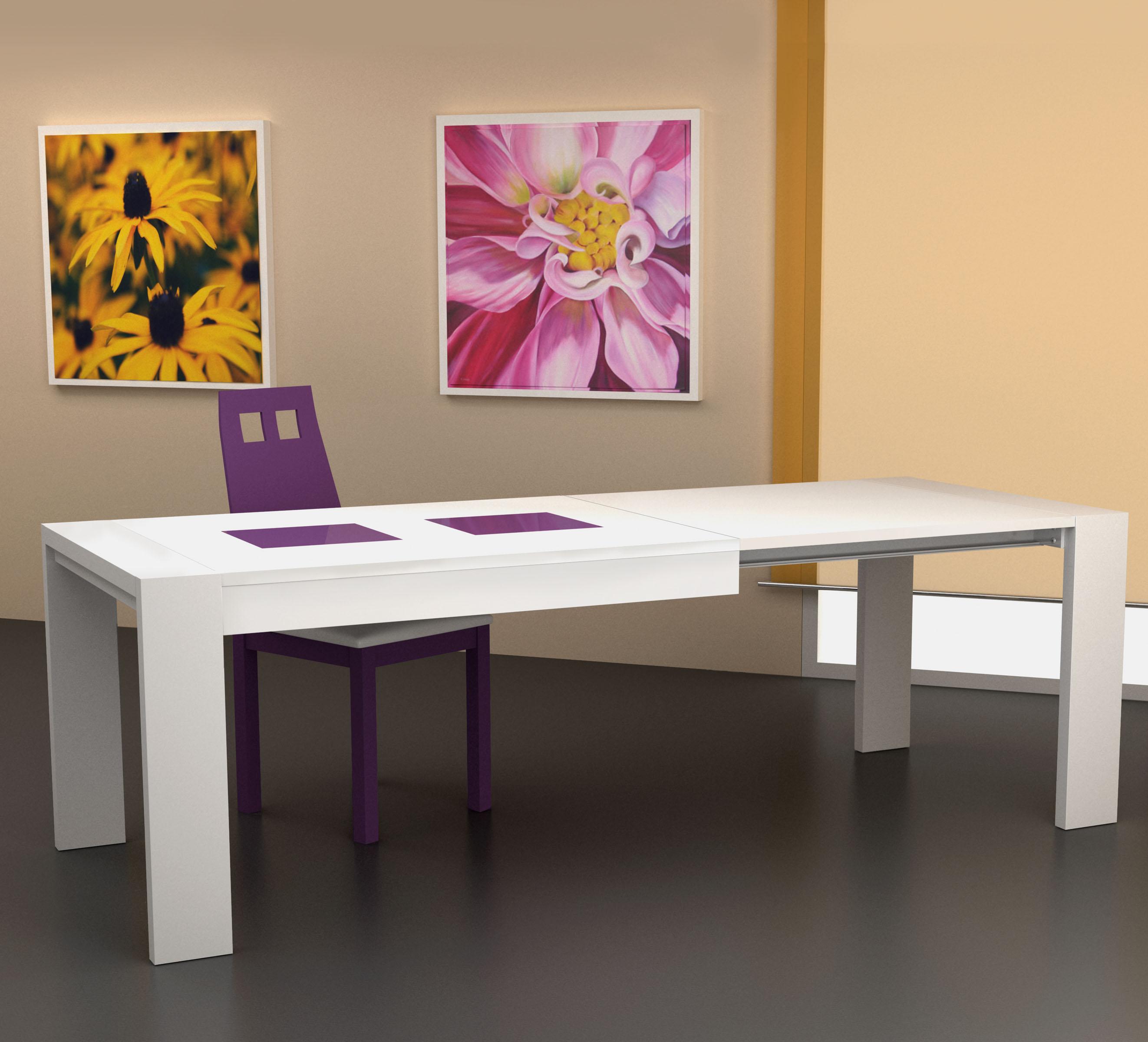 Mesa de comedor ferpi muebles - Mesas auxiliares comedor ...
