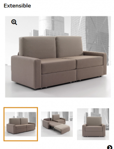 SOFA CAMA EXTENSIBLE